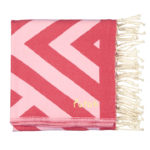 benagil-beach-towel-black-pink-red-1